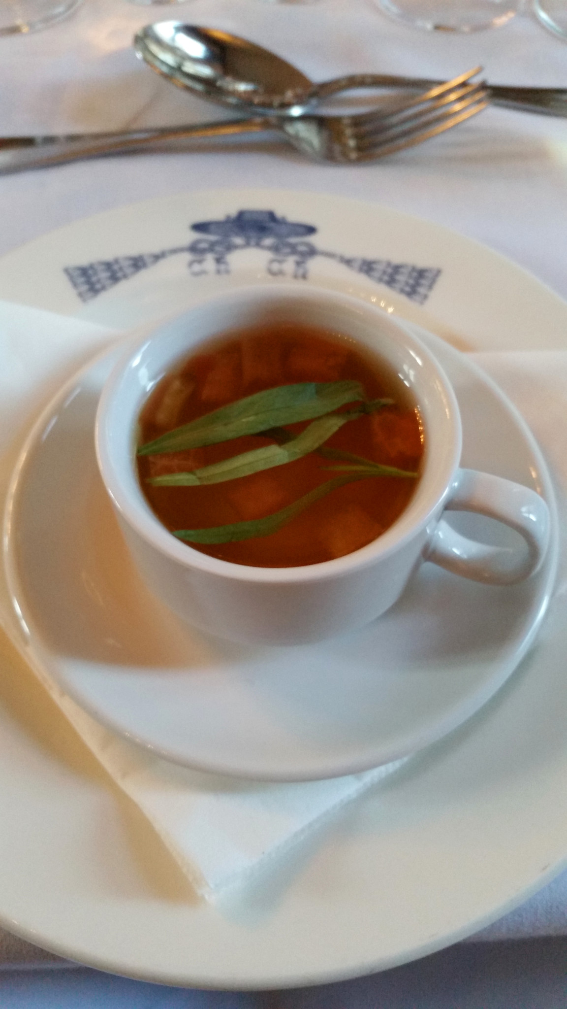 Another Food Blog Christ Church Oxford  consommé