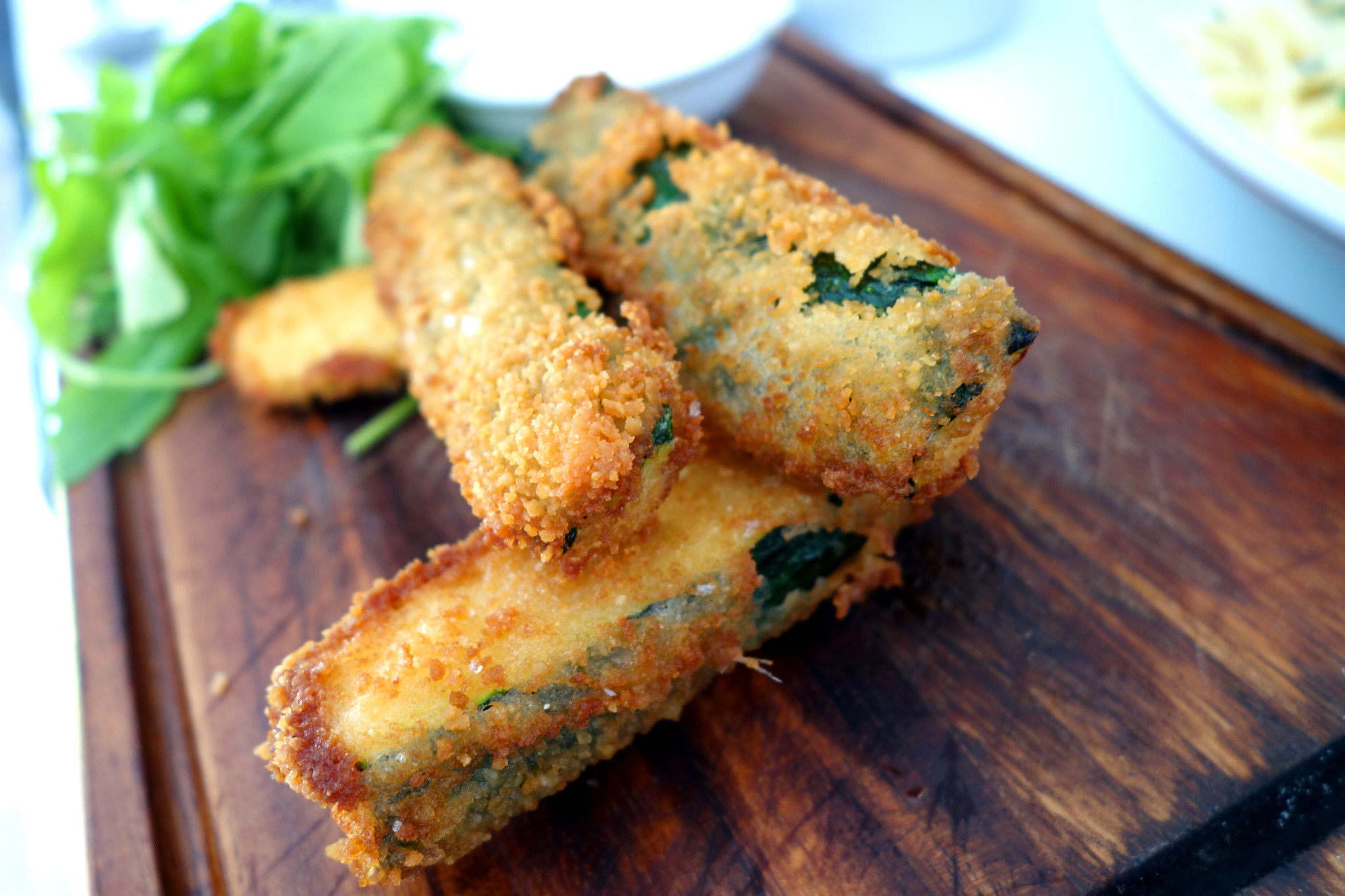 Another Food Blog La Famiglia Lewes zucchini
