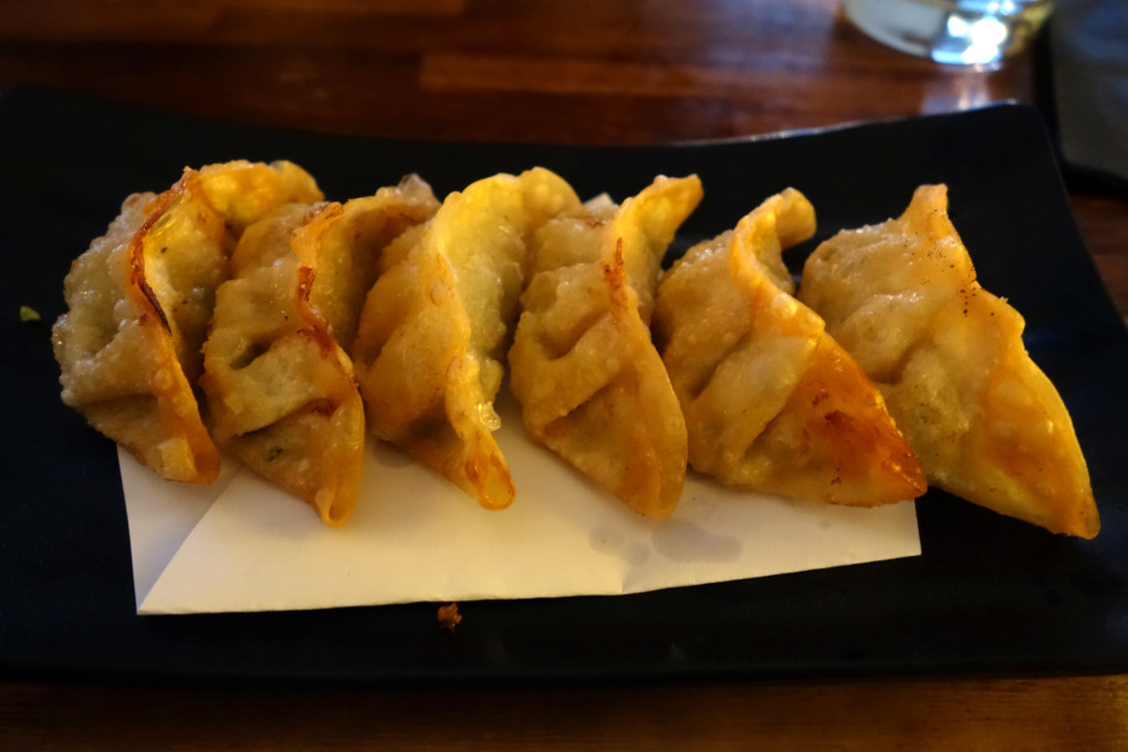 Another Food Blog Sushi Garden dumplings