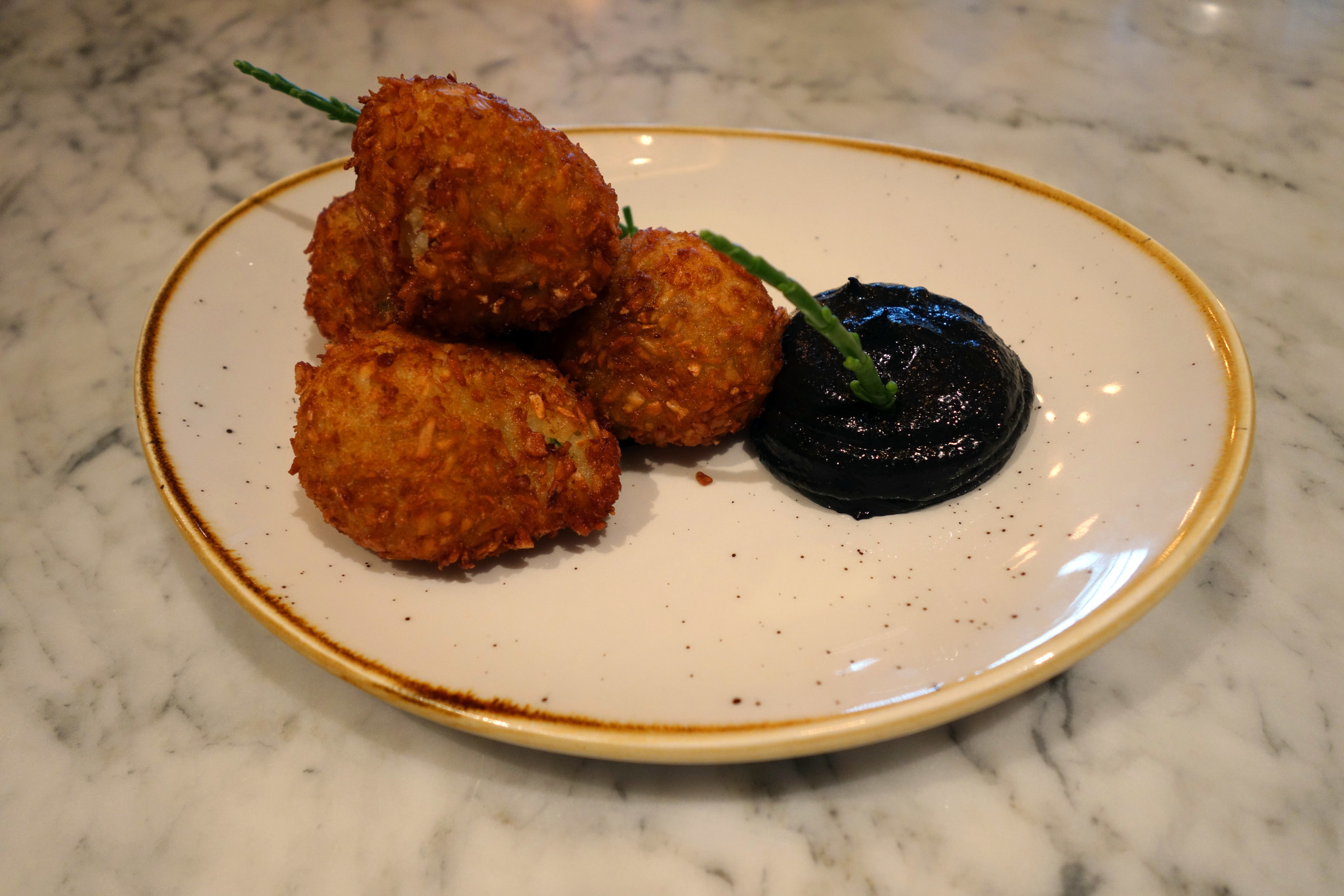 Salt Room Brighton cod fritters