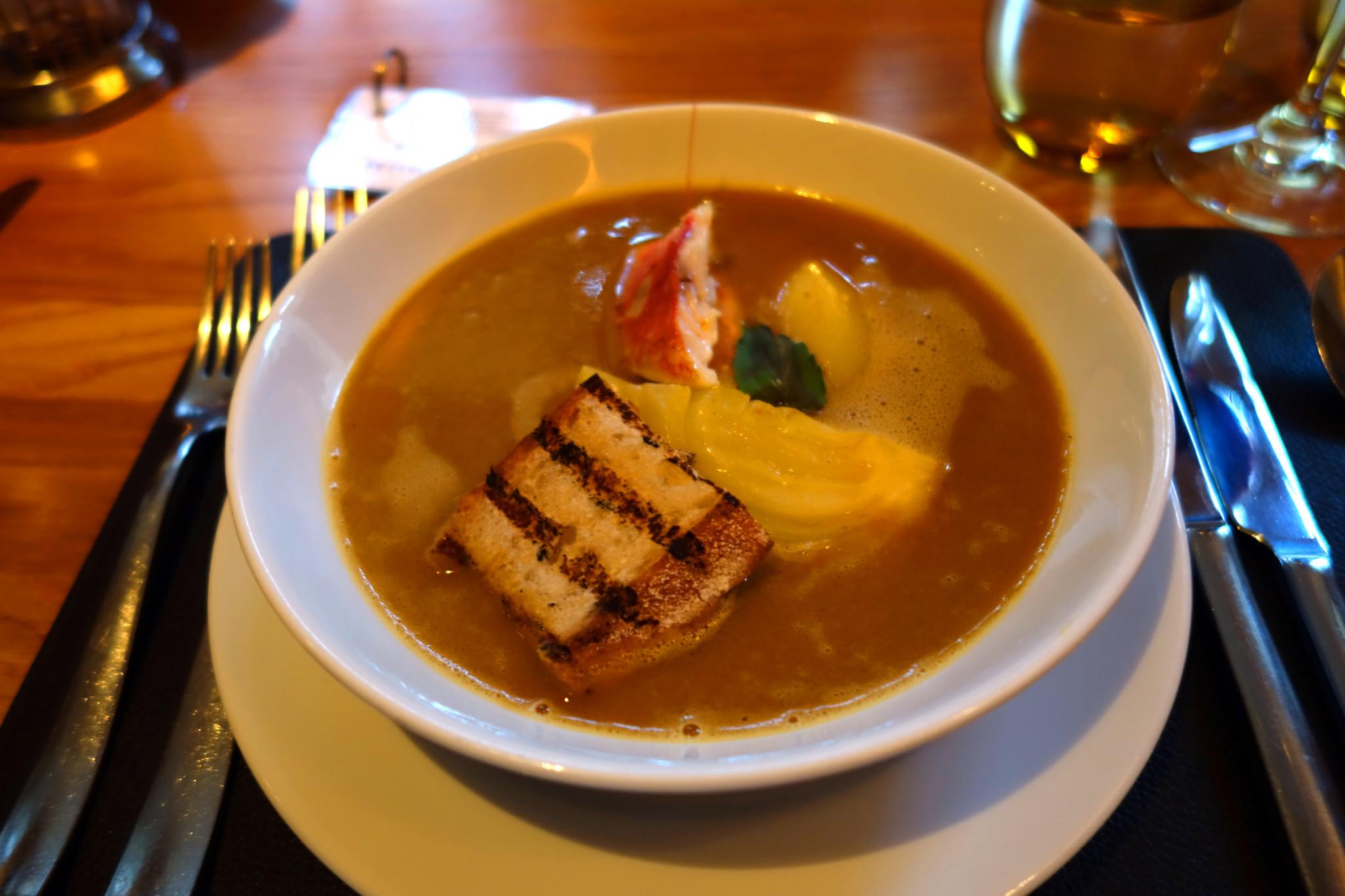bar boulud soup de poisson